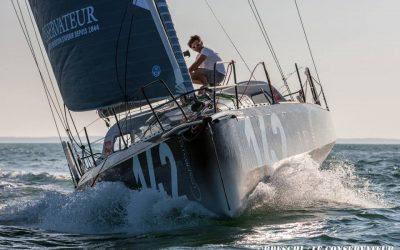 Yannick Bestaven à bord du premier Tizh 40