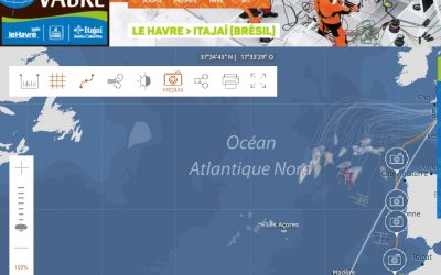 Transat Jacques Vabre : des news de la mer !