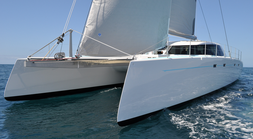 GIZMO, high performance luxury cruising catamaran
