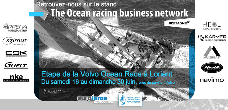 Meet nke on the Volvo Ocean Race stand