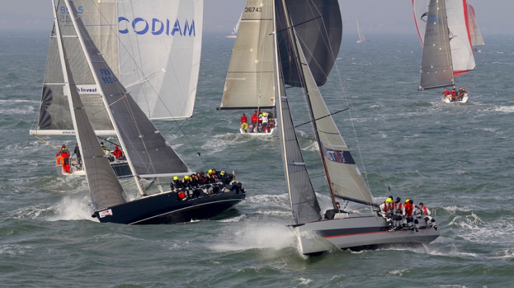 Courrier Vintage win RORC Yacht of the Year !