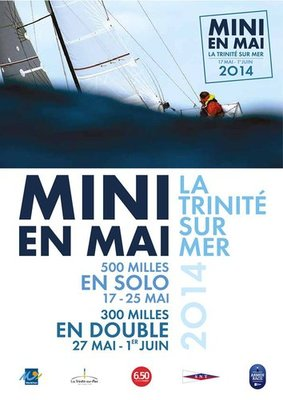 nke supports the MINI en Mai race in La Trinité sur Mer
