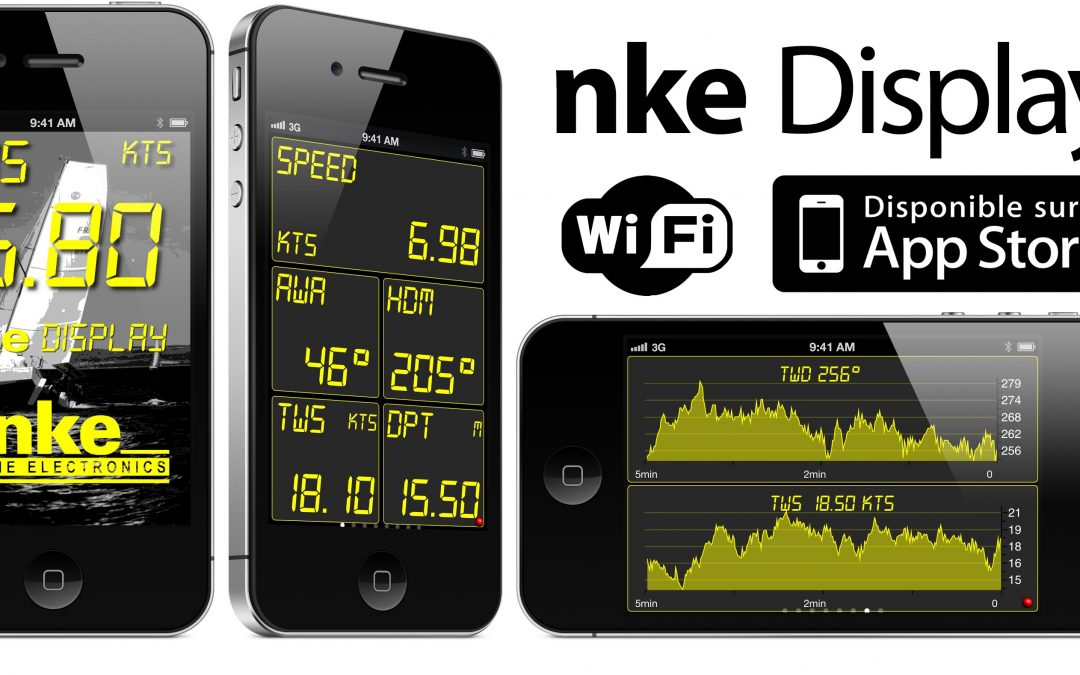 New product : the nke display application now available on Androïd